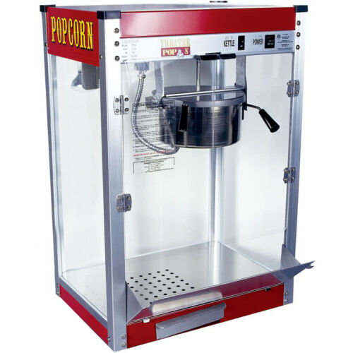 Paragon Theater Pop 8 Ounce Popcorn Machine.  Made in USA!