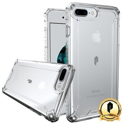 Apple Iphone 7 Plus Poetic  Affinity  Shockproof Cover Tpu Protective Case Clear