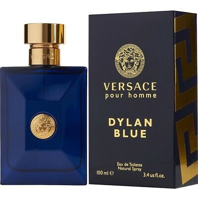 Versace Dylan Blue by Versace cologne for Men Eau de Toilette 3.3 / 3.4 oz NIB