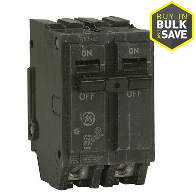 Ge Q-line Thql 50-amp Single Phase 120240v 2-pole Standard Trip Circuit Breaker