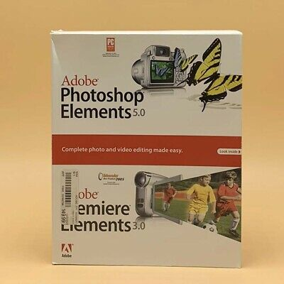 Adobe Photoshop Elements 5.0 and Premiere Elements 3.0