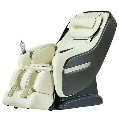 Osaki Titan TP Pro Alpine L-Track Massage Chair Zero Gravity Recliner Heat Cream