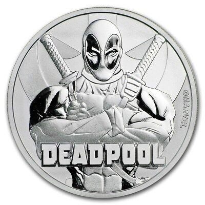 Deadpool / Comic / Film / Marvel - SILBERMÜNZE SILBERBARREN  (Deadpool-comic 1)
