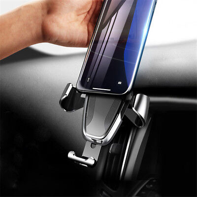 360° Universal Gravity Car Air Vent Mount Cradle Holder for iPhone GPS