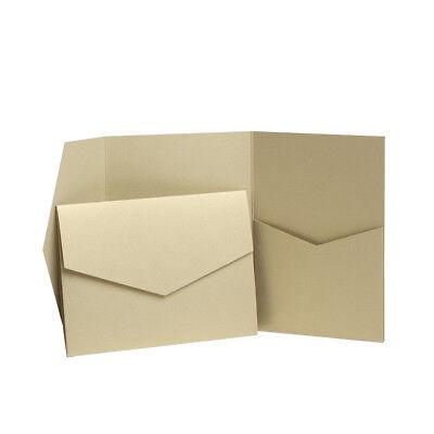 Pocket Invitations. Wedding Invite Holder. Wallet Cards. Card Making Kit. Craft](Pocket Wedding Invitation Kits)