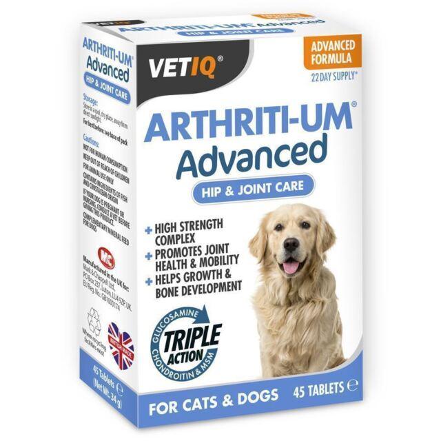 Mark & Chapell Vetiq Arthriti-UM Advanced 45 Tablets