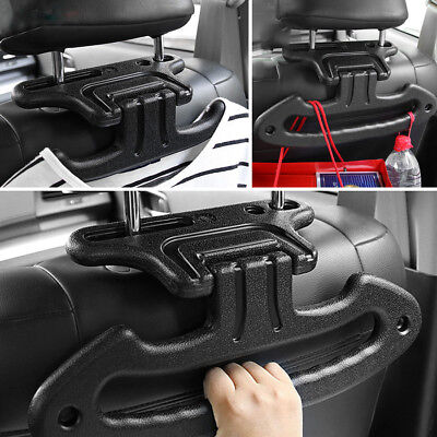 Multifunction Car Rear Seat Mobility Handle Support Clothes Hanger Bracket Hook