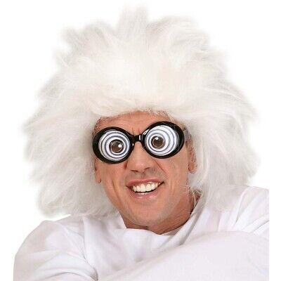 PROFESSOR PERÜCKE Wahnsinniger Verrückter Irrer Doktor Psycho Kostüm Party - Verrückter Professor Kostüm