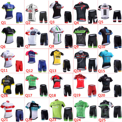 2018 new Maglia ciclismo Pantaloncini imposta New Mens cycling jersey/shorts set