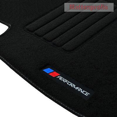 Mattenprofis Velours Fußmatten PERFORMANCE für BMW 3er E90 E91 ab Bj 2005 - 2012