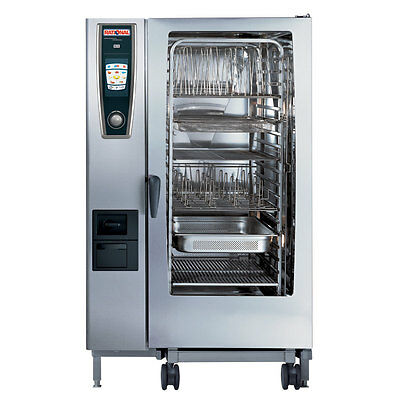 Rational Model 202 A228106.12 Electric Combi Oven With Twenty Full Size Sheet P