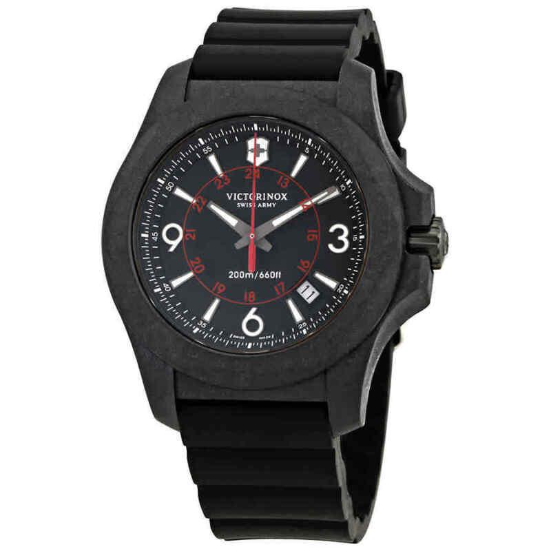 Victorinox-I.N.O.X.-Carbon-Black-Dial-Men-Rubber-Watch-241777