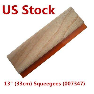 Us Stock 13 Silk Screen Printing Squeegee Scraper 33cm Scratch Board Waterbase
