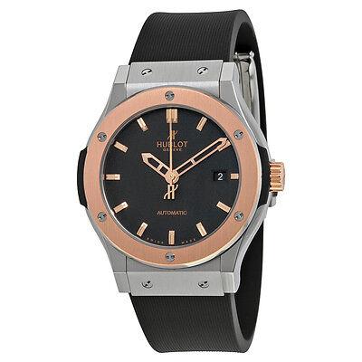 Hublot Classic Fusion Black Dial Zirconium Automatic Mens Watch 542NO1180RX