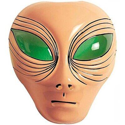 KINDER ALIENMASKE Halloween Karneval Kindermaske Alien Maske Kostüm Zubehör - Alien Maske Kostüm