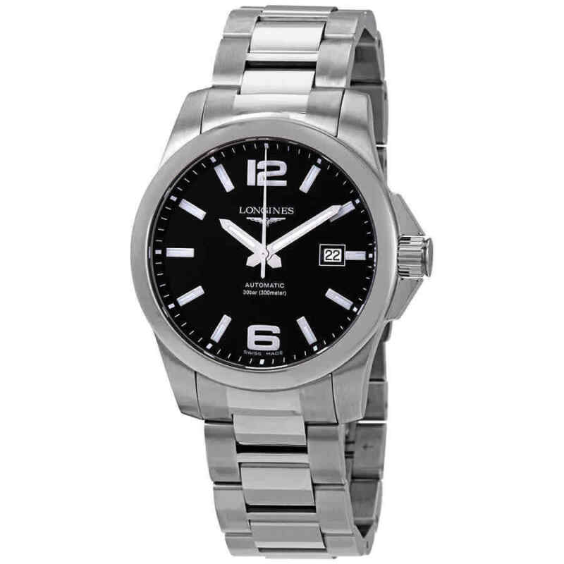 Longines-Conquest-Black-Dial-Automatic-Men-41mm-Watch-L3.777.4.58.6