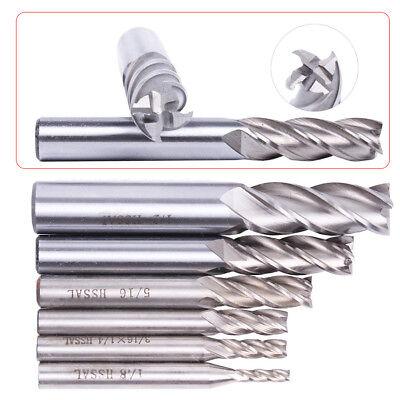 "1//8/"" .125/"" 2 Flute 60 degree Carbide Chamfer Mill Spot Drill 5-Pack USA H3"