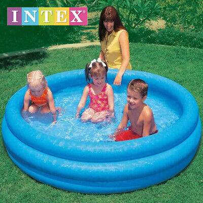 NEW INTEX  INFLATABLE 3 RING KIDS BABY PATIO GARDEN PADDLING PLAY SWIMMING POOL