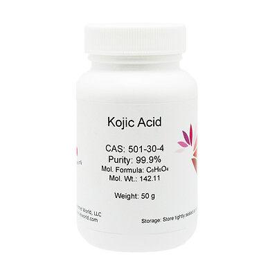 KOJIC ACID POWDER, 50G, Skin Whitening LIGHTENING, 99.9% PURE, Hot Sale!