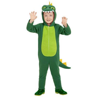 ER Karneval Fasching Krokodil Mädchen Jungen Tierkostüm 0519 (Kostüm Krokodil)