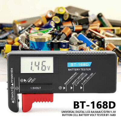 LCD Tester Battery Checker Volt Small Digital Button Cell for AA AAA C/D 1.5V 9V Lcd Battery Tester