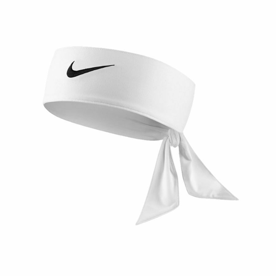 NEW Nike Dri-Fit Head Tie 2.0 Womens Headband Tennis Basketball White Black  Volt 아이템 넘버  301488538758.   ab8c6e3e48a7