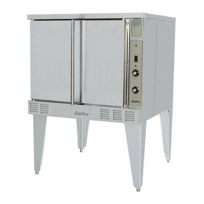 Garland Sunfire Sco-gs-10ess Gas Energy Star Single Deck Convection Oven