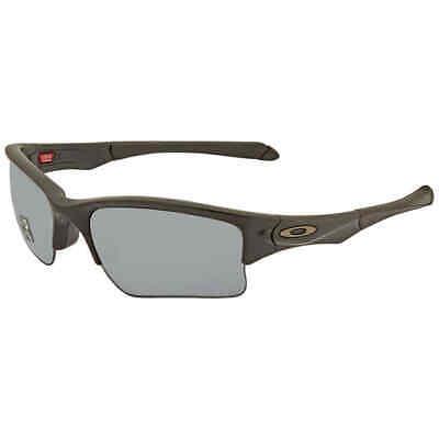 Oakley Quarter Jacket (Youth Fit) Grey Sport Polarized Sunglasses OO9200 (Oakley Youth Fit)