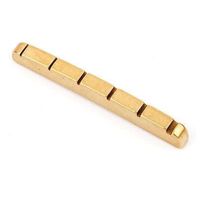 Genuine Fender Yngwie Malmsteen Brass Strat nut 007-3916-049 - NEW