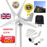 400W Wind Turbine Generator Kit Max AC 12V 5 Blades Option Aerogenerator UK