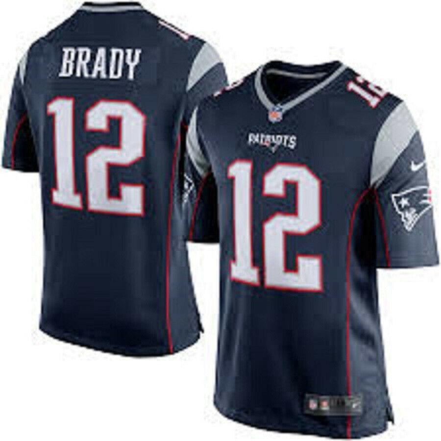 BRADY camiseta de la NFL PATRIOTS color azul.Talla 2XL,3XL.