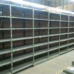 New and used metalware industrial shelving & pallet racking