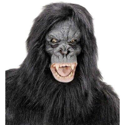 GORILLA MASKE Karneval Affenmaske Gorillamaske Affen Tier Kostüm Party Deko - Gorilla Maske Kostüm