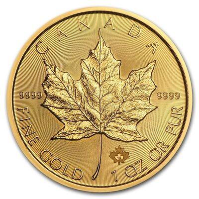 SPECIAL PRICE! 2019 Canada 1 oz Gold Maple Leaf BU - SKU #180471
