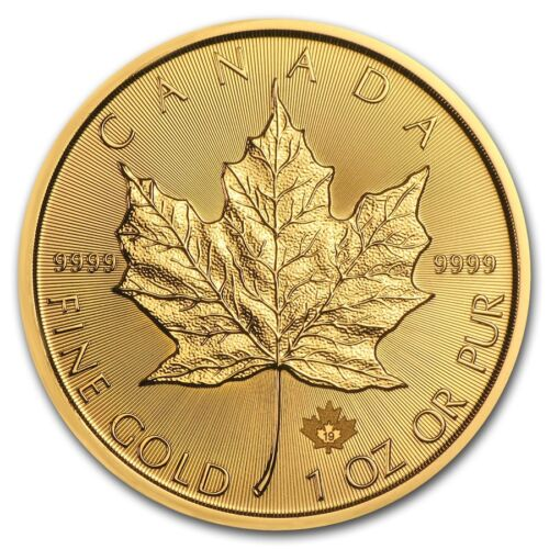 2019 Canada 1 oz Gold Maple Leaf BU - SKU #180471