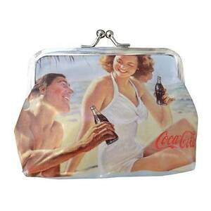 Coca Cola Retro Coin Purse with Pin Up Couple Official New Perth Seville Grove Armadale Area Preview