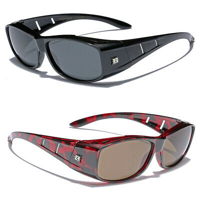 Polarized Sunglasses that Fit Over Prescription Eye Glasses Fitovers Goggles (Shades Over Glasses)