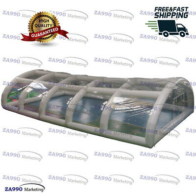 39x20ft Inflatable Dome Tent Cover For Outdoor Swimming Pool With Air Pump