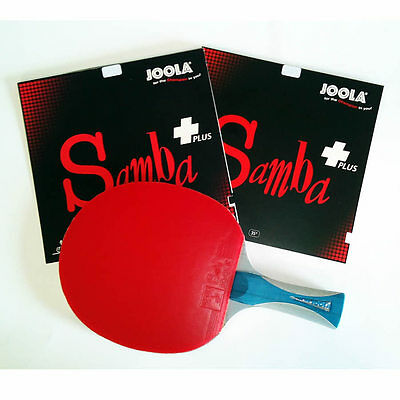 PROFI Tischtennisschläger JOOLA mit SAMBA PLUS / TOP Allrounder / NEU