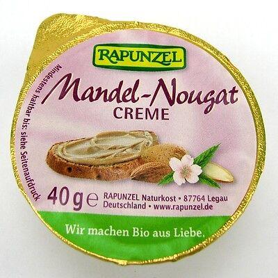 (2,98/100g) Rapunzel Mandel Nougat Creme bio 40 g