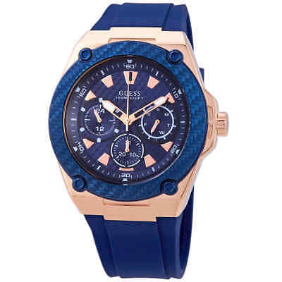 Guess Legacy Blue Dial Men's Watch W1049G2