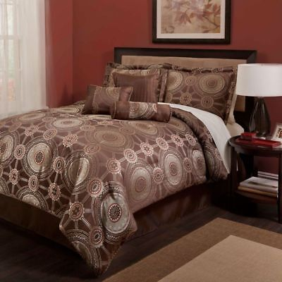 Signet Eaton by Baltic Linen Company 24 pc Comforter Set Exotic Moroccan - Queen