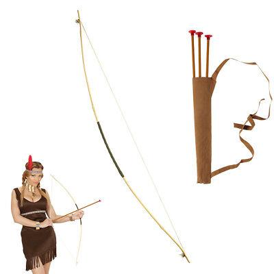 PFEIL UND BOGEN # Karneval Mittelalter Indianer Räuber Kinder Kostüm Party - Pfeile Kostüm
