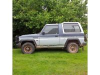 Daihatsu Fourtrak for spares or repair