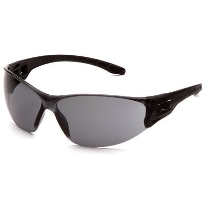 Pyramex Trulock Dielectric Safety Glasses Black Temples Gray Anti-fog Lens