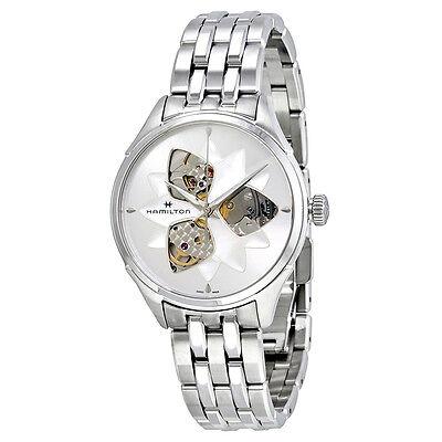 Hamilton Jazzmaster Open Heart Lady Watch H32115191