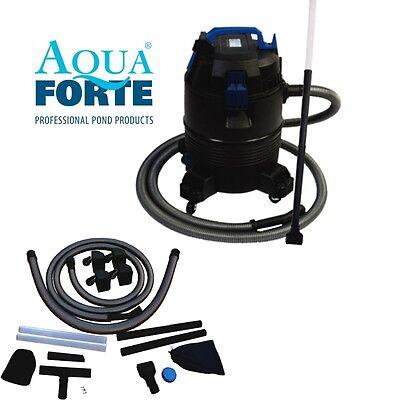 AquaForte Teichsauger 35L – 1400W Pond Cleaner Koi Teich Pool Schlammsauger