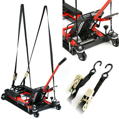Hydraulic Foot Operated 1500Lb Motorcycle Or Atv Center Lift Jack Stand Platform