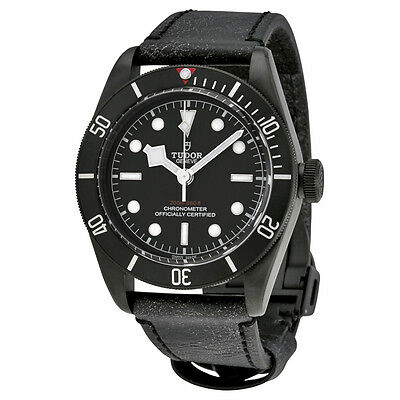 Tudor Heritage Black Bay Black Dial Automatic Mens Watch 79230DK-BKLS