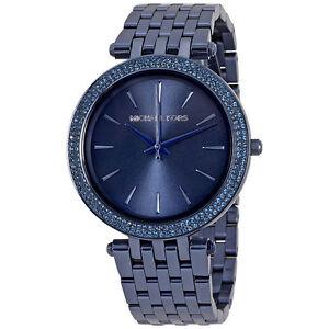 239e45758f4 Michael Kors MK3417 Darci Blue Sunray Dial Ladies Watch for sale ...